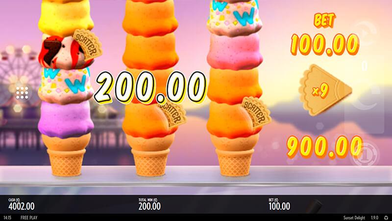 Изображение игрового автомата Sunset Delight 2