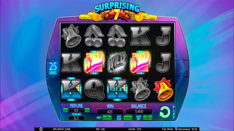 Изображение игрового автомата Surprising 7 1