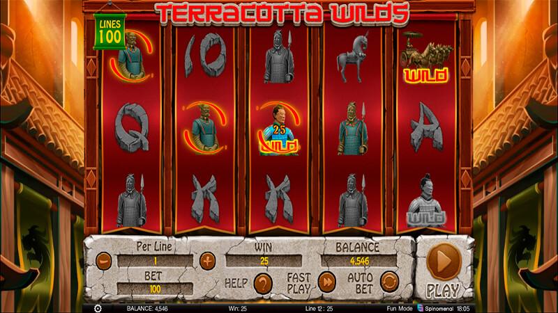 Изображение игрового автомата Terracota Wilds 1