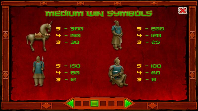 Изображение игрового автомата Terracota Wilds 3