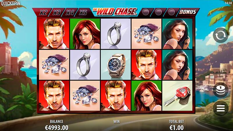 Изображение игрового автомата The Wild Chase 1