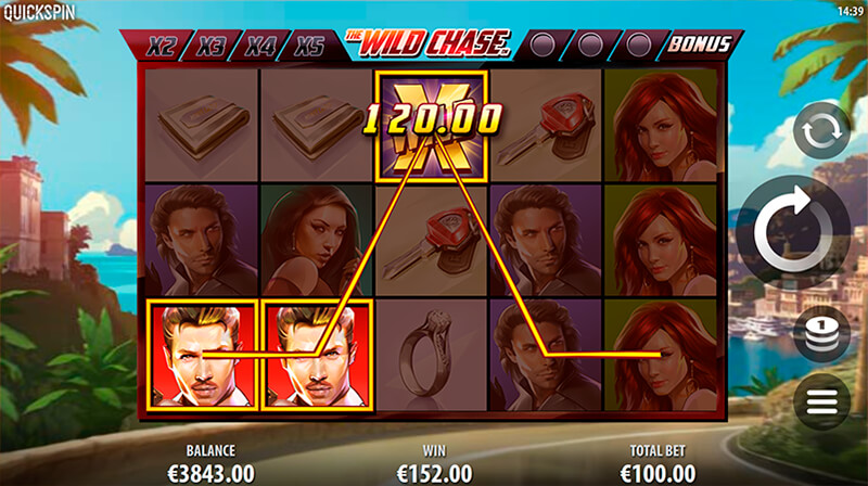 Изображение игрового автомата The Wild Chase 2