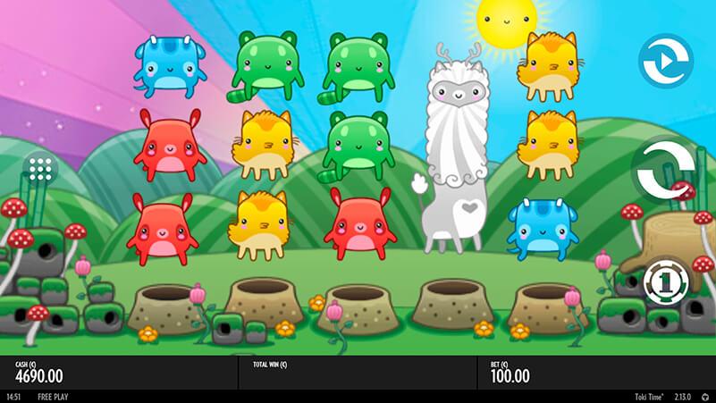 Изображение игрового автомата Toki Time 1