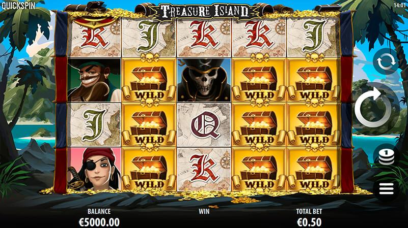 Изображение игрового автомата Treasure Island 3