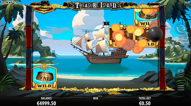 Изображение игрового автомата Treasure Island 1