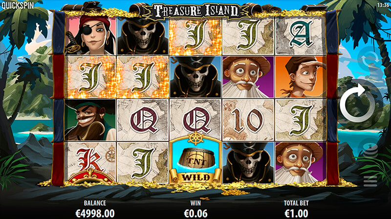 Изображение игрового автомата Treasure Island 2