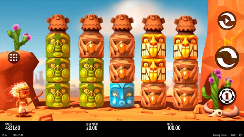 Изображение игрового автомата Turning Totems 1