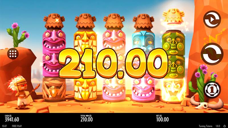 Изображение игрового автомата Turning Totems 2