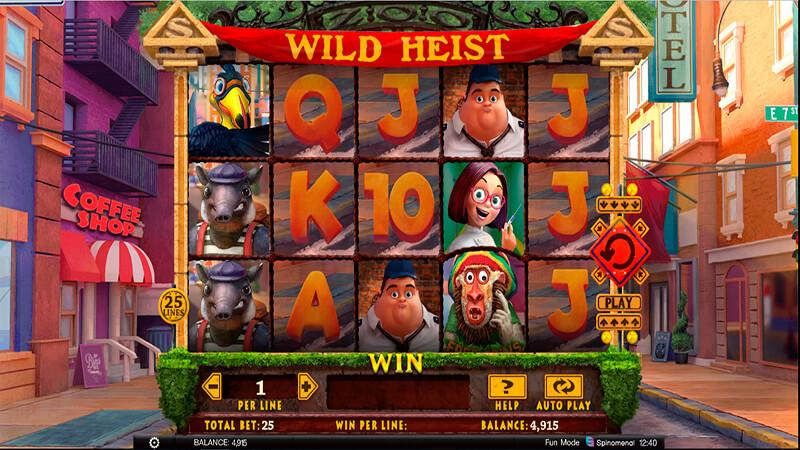 Изображение игрового автомата Wild Heist 2