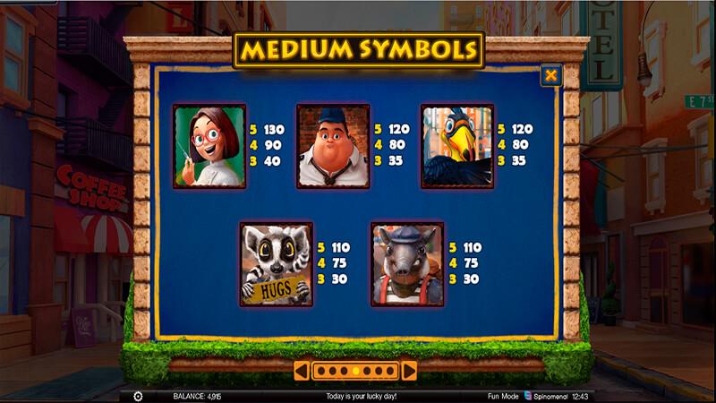 Изображение игрового автомата Wild Heist 3