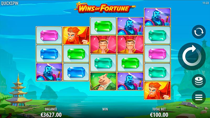 Изображение игрового автомата Wins of Fortune 1