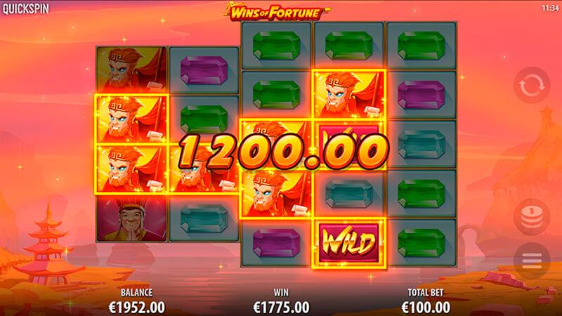 Изображение игрового автомата Wins of Fortune 2