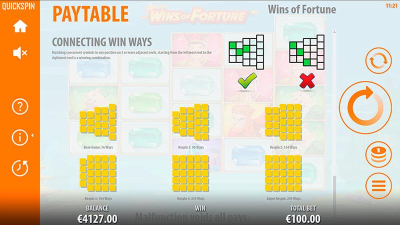 Изображение игрового автомата Wins of Fortune 5