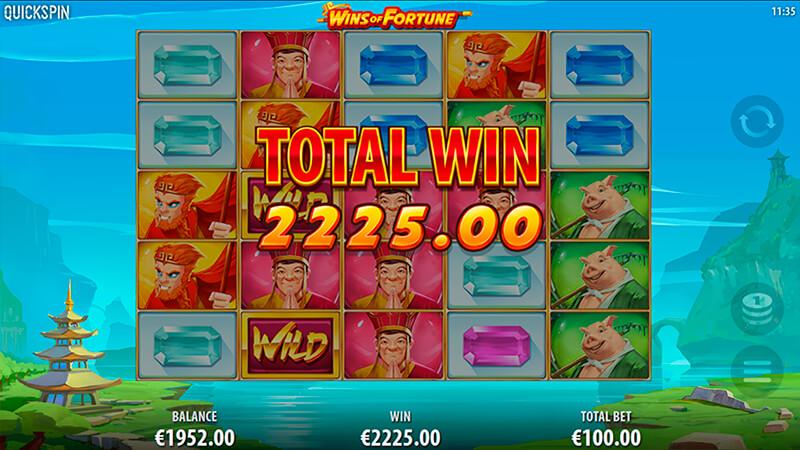 Изображение игрового автомата Wins of Fortune 3