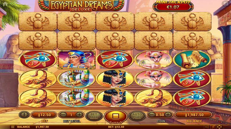 Egyptian dreams египетские мечты игровой автомат делать win_day