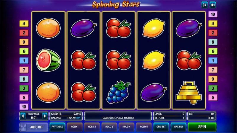 Изображение игрового автомата Spinning Stars 2