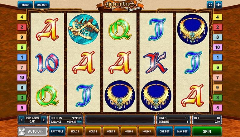 Изображение игрового автомата Columbus Deluxe 2