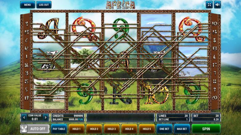 Изображение игрового автомата Afrika 1