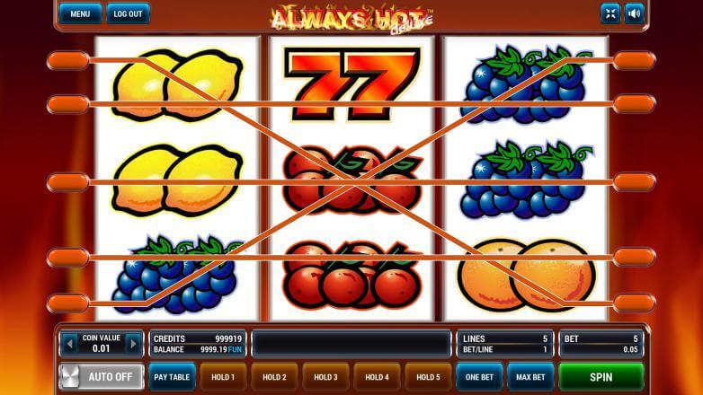 Изображение игрового автомата Always Hot Deluxe 1