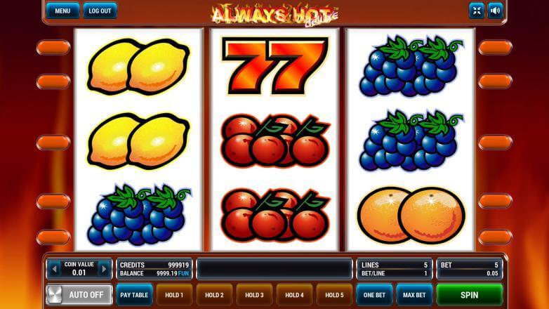 Изображение игрового автомата Always Hot Deluxe 2