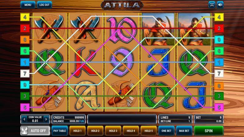 Изображение игрового автомата Attila 1