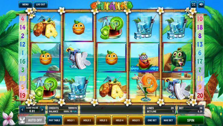 Изображение игрового автомата Bananas 2