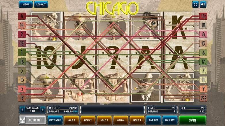 Изображение игрового автомата Chicago 1