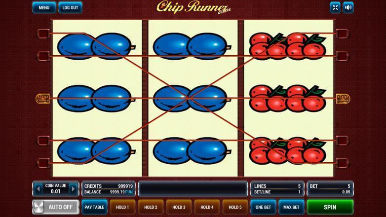 Изображение игрового автомата Chip Runner 1