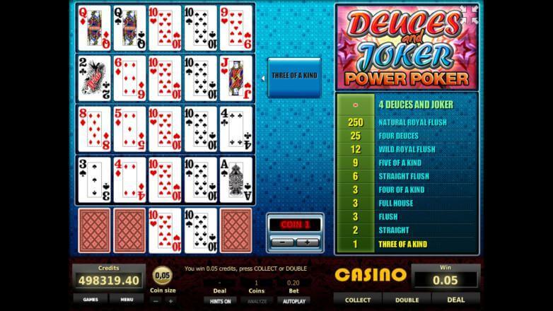 Изображение игрового автомата Deuces and Joker 4-Hand Poker 3