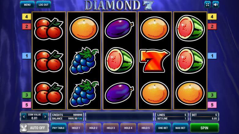 Изображение игрового автомата Diamond 7 2