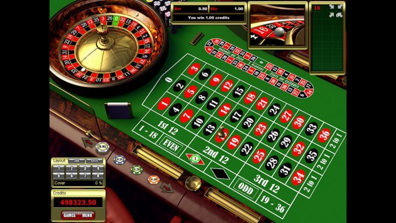 Изображение игрового автомата European Roulette 3