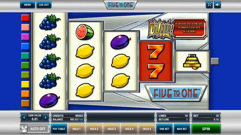 Изображение игрового автомата Five to One 2