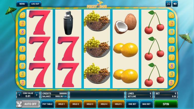 Изображение игрового автомата Fruit Bar 2