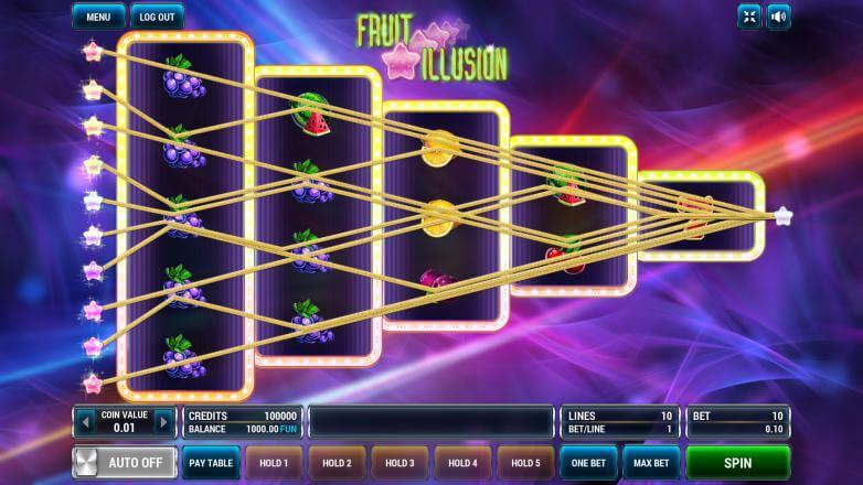 Изображение игрового автомата Fruit Illusion 1