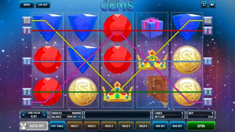 Изображение игрового автомата Gems 1