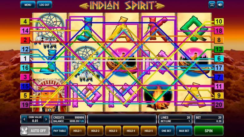 Изображение игрового автомата Indian Spirit 1
