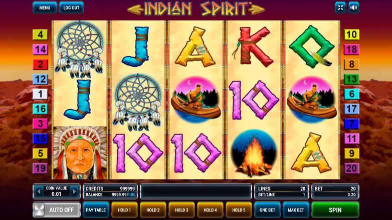 Изображение игрового автомата Indian Spirit 2