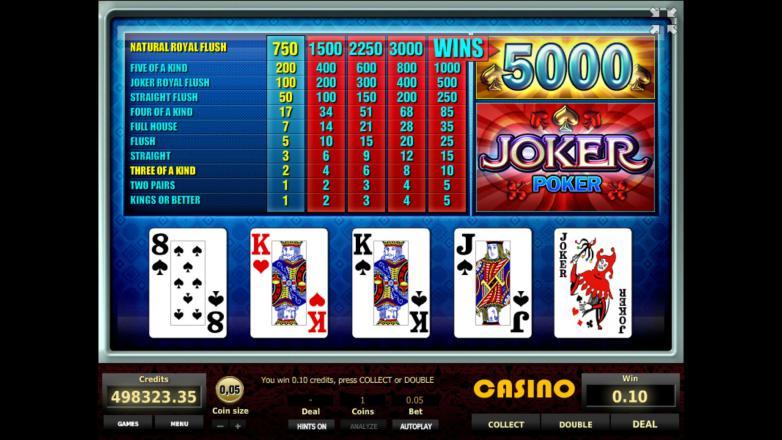 joker 777 казино