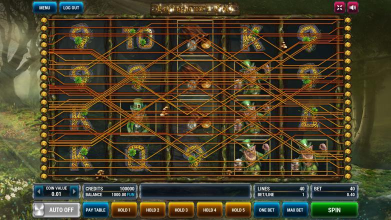 Изображение игрового автомата Leprechaun's Gold 1