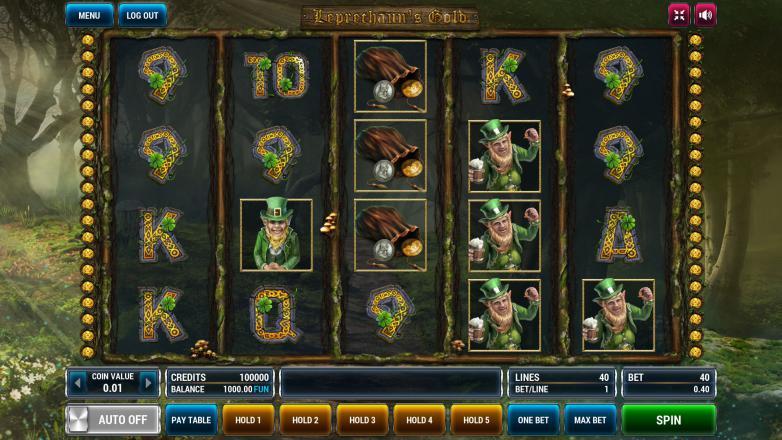 Изображение игрового автомата Leprechaun's Gold 2