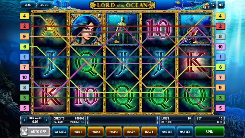 Изображение игрового автомата Lord of the Ocean 1