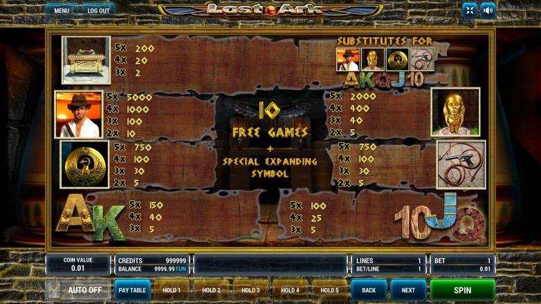 Изображение игрового автомата Lost Ark 3