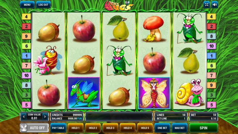 Изображение игрового автомата Lucky Bugs 2