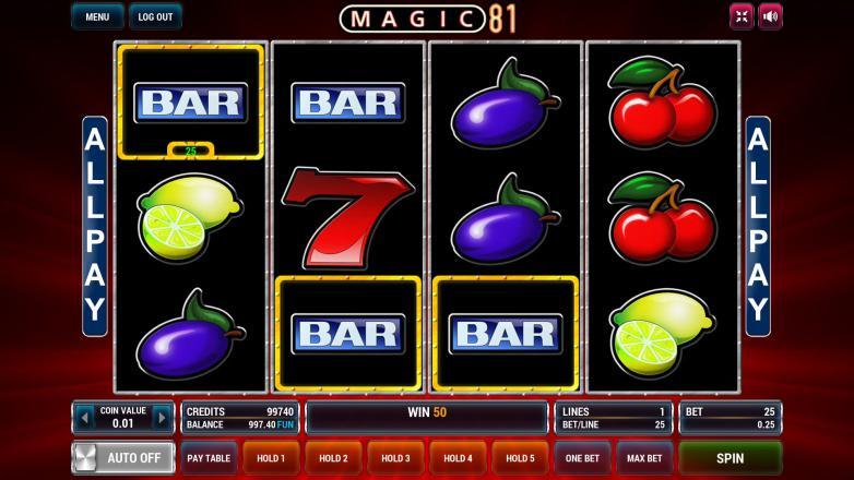 Изображение игрового автомата Magic 81 2