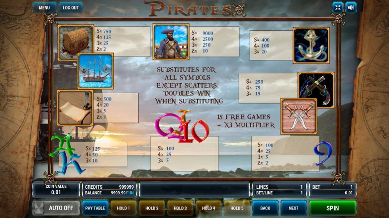 пират автомат играть онлайн