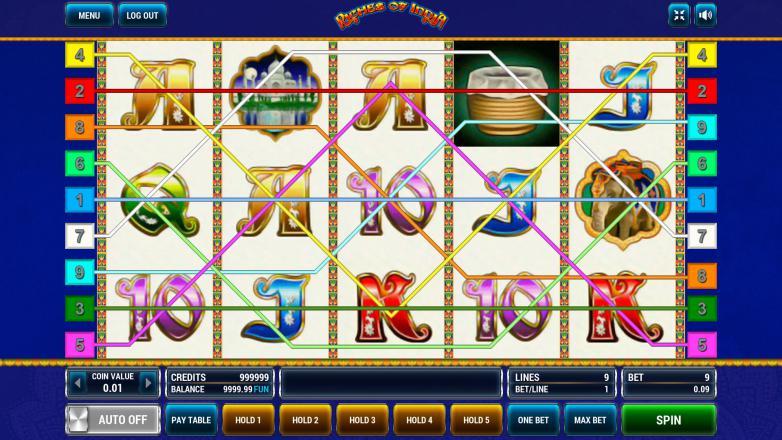 Изображение игрового автомата Riches of India 1