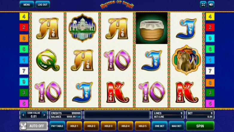 Изображение игрового автомата Riches of India 2