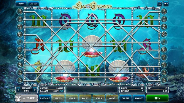 Изображение игрового автомата Sea Treasures 1