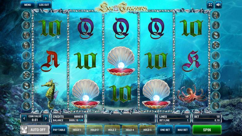 Изображение игрового автомата Sea Treasures 2
