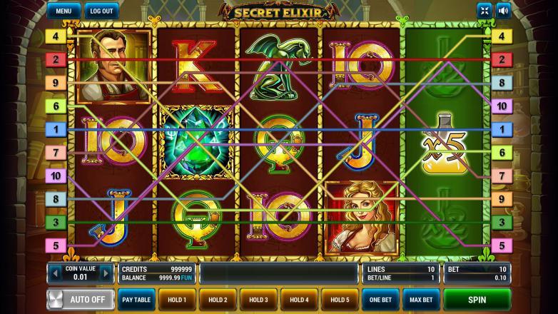 Изображение игрового автомата Secret Elixir 2